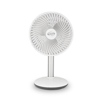 Argo ORFEO Battery-powered Desk Fan 4-Speed Up to-12hr