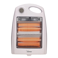 Bimar Infrared Heater with Quartz Heating Elements 800W HR304