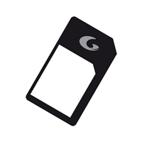 CellularLine Sim Adapters - Micro SIM Adaptor
