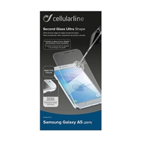 Cellularline TEMPGCAPGALA517T Tempered Glass for Samsung A5