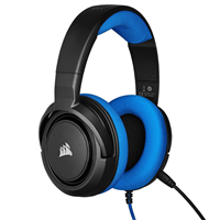 Corsair CA-9011196-EU HS35 GAMING Headset with Microphone Blue