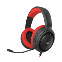 Corsair CA-9011198-EU HS35 GAMING Headset with Microphone Red