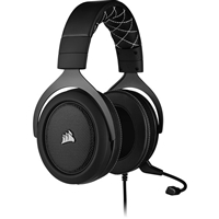 Corsair CA-9011213-EU HS60 Pro Surround Carbon GAMING Headset with Microphone Black