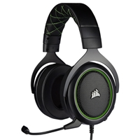 Corsair CA-9011216-EU HS50 Pro Stereo GAMING Headset with Microphone Black/Green