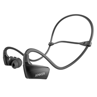 Anker A3260H11 SoundBuds Sport NB10 Water-Resistant Bluetooth Sport Earphones Black
