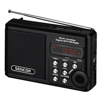 Sencor SRD-215 Mini Portable Radio Black
