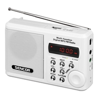 Sencor SRD-215 Mini Portable Radio White