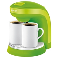 Coffee And Tea Maker Green SCE2000GR With Two Free Porcelain Mugs