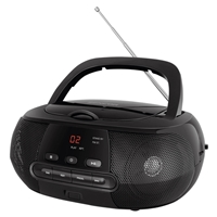 Sencor SPT-1200 Portable Radio FM Black CD/MP3/AUX