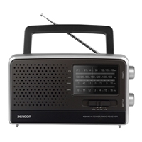 Sencor SRD-2806 Portable Radio AM/FM Black