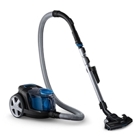 Philips FC9331/09 PowerPro-Compact Cyclonic Bagless Vacuum Cleaner 650W 1.5Ltr Black/Blue