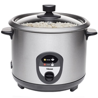 Tristar Rice Cooker 1.5L Stainless Steel RK-6127