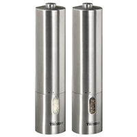 Tristar PM4005 Salt and Pepper Mill Set Stainless-Steel