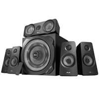 Trust GXT 658 Tytan 5.1 Surround 90W-RMS Speaker System with LED Subwoofer