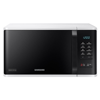 Samsung MS23K3513AW Microwave Oven 23Ltr Digital-Control Quick-Defrost Black+Silver 800W