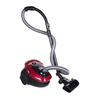 Samsung VC07M25E0WR Bagged Vacuum Cleaner 1500W 2.5Ltr Adjustable-Power Red/Black