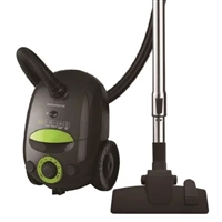 Daewoo RC-Z481GB/2A Bagged Vacuum Cleaner 700W 2.5Ltr HEPA-Filter Black