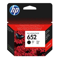 HP 652 (F6V25AE) Black Ink Cartridge