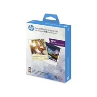 HP W2G60A Social Media Snapshots Sticker Photo Paper 10x13 265gsm 25 Sheets
