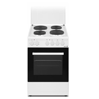 Arielli C-5060FL Electric-Cooker-Oven + 4*Burner (4*Electric) 43Ltr A White (H86xW50xD60 cm)