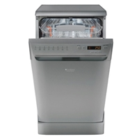 Hotpoint-Ariston LSFF8M117XEU Dishwasher 10-Sets 45cm A+ Silver 8-Program Digital-Display (H85xW45xD60 cm)