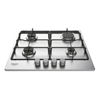 Hotpoint-Ariston THC-641-IX/HA Built-in Gas Hob Silver 4*Burner (H3.8xW58xD51 cm)