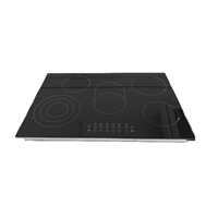 AVG YLCF8505 Built-in Ceramic Hob Black 5*Burner Touch-Control (5.2x77x52 cm)