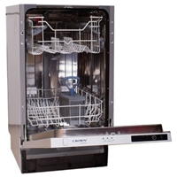 Crown DW-4530A-BI Built-in Dishwasher 10-Sets A+ (H81xW45xD55 cm)