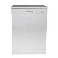 Crown DW-6044A-WH Dishwasher 12-Sets A+ 4-Programs Digital-Display White (H85xW60xD60 cm)