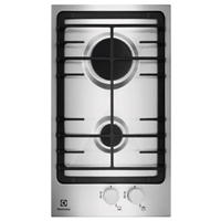 Electrolux EGG3322NVX Built-in Gas Hob 2*Burner (H4.1xW29xD52 cm)