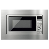 Finlux FXMW-20H70GD Built-in Microwave Oven+Grill 20Ltr Silver 800W+1050W Digital-Control LED-Display