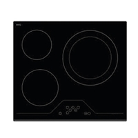 Finlux FXVT 633D Built-in Ceramic Hob Black 3*Burner Touch-Control (4.7x59x52 cm)