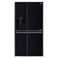 LG GSJ760WBXV Fridge/Freezer Side-By-Side Door-In-Door 601Ltr (405L+196L) (H179xW91.2xD73.8 cm) A+ No-Frost Black Water/Ice-Dispenser