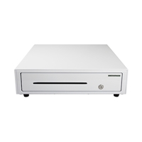 Metapace K-1 Cash-Drawer Front-Opening Stainless-Steel