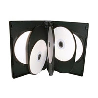 Optical-Media-Acc. DVD Case 8-Way 14mm Black