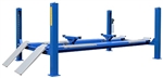Tuxedo FP14KA-C 14,000 lb Four Post Alignment Lift - Closed Front - Cable Driven