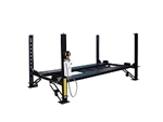 Tuxedo FP8K-DX-XLT	8,000 lb Deluxe Storage Lift Extended Length / Height - Poly casters, drip trays, jack tray