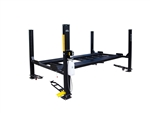 Tuxedo FP9K-DX-XLT	9,000 lb Deluxe Storage Lift Extended Length / Height - Poly casters, drip trays, jack tray