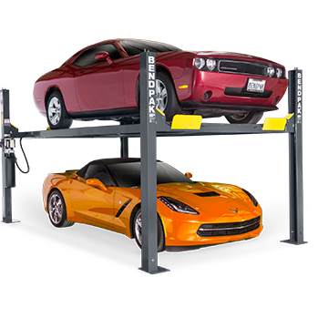 Bendpak HD-9 9,000-lb  Capacity Standard Width Car Lift