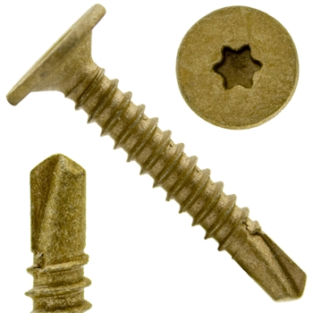 Star/Torx Drive Wafer Head Self Drilling Screw
