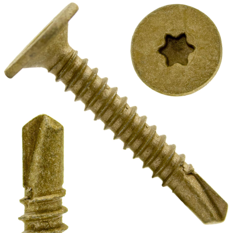 SELF DRILLING WAFER HEAD SCREW for METAL-Self Tapping TEK Screw STAR//TORX Drive