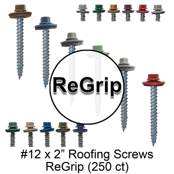 #12 Metal Roofing Screw - Galvanized