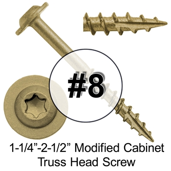 High Performance Modified Truss Head Cabinet Wood Screw