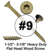High Performance Exterior Wood Screw