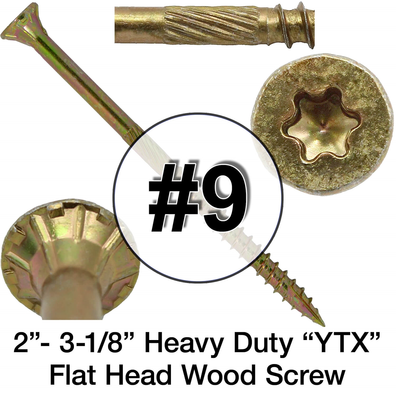 General Purpose Wood Screws Torx Head GOLD STAR WOOD SCREWS Star Drive Screws