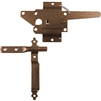 Wood Gate Latch - Wood Gate Latch With Handle - Wood Gate Hardware - BRONZE