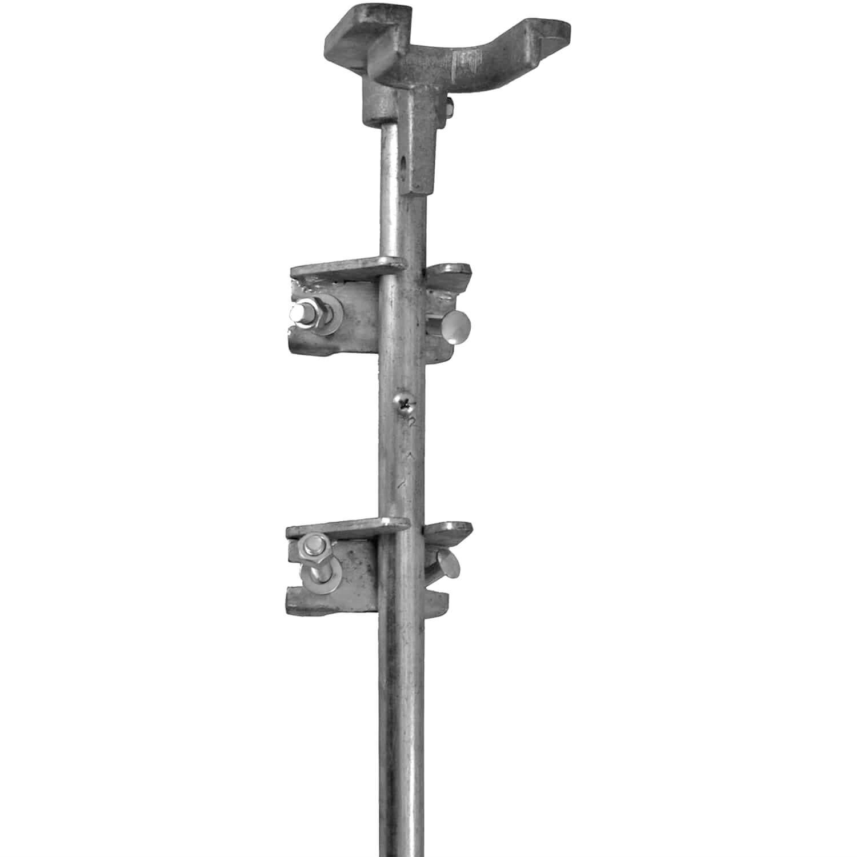 Allen key fixing 50x Screw Double Rod FENCE FENCE POSTS
