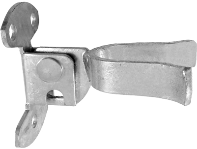 Chain Link Fence Parts Wall Mount Flatback Fork Latch