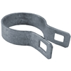 Chain Link Fence Brace Bands for rail end - chain link fence supplies