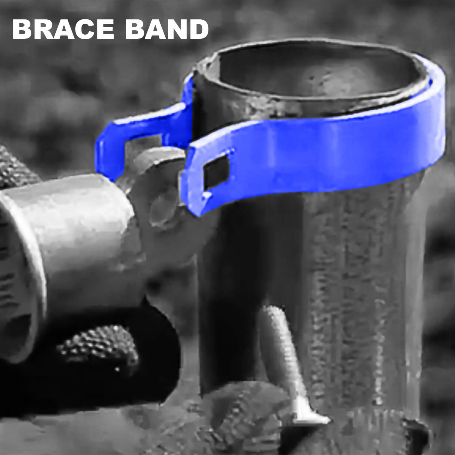 Chain Link Fence Brace Bands for rail end chain link fence supplies